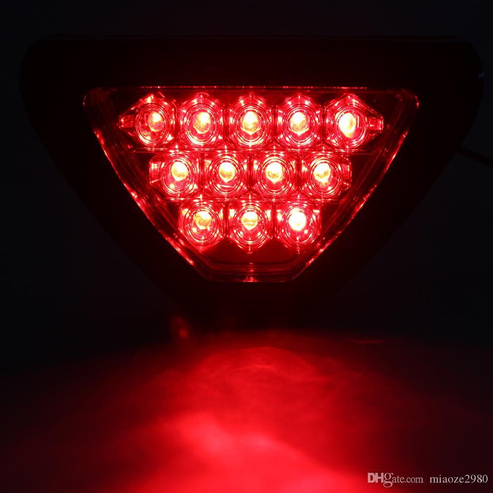 LEEPEE Fog Lamp Triangle автомобиля фонаря сигнала торможения Tail Light Универсальные светодиодные лампы-вспышки
