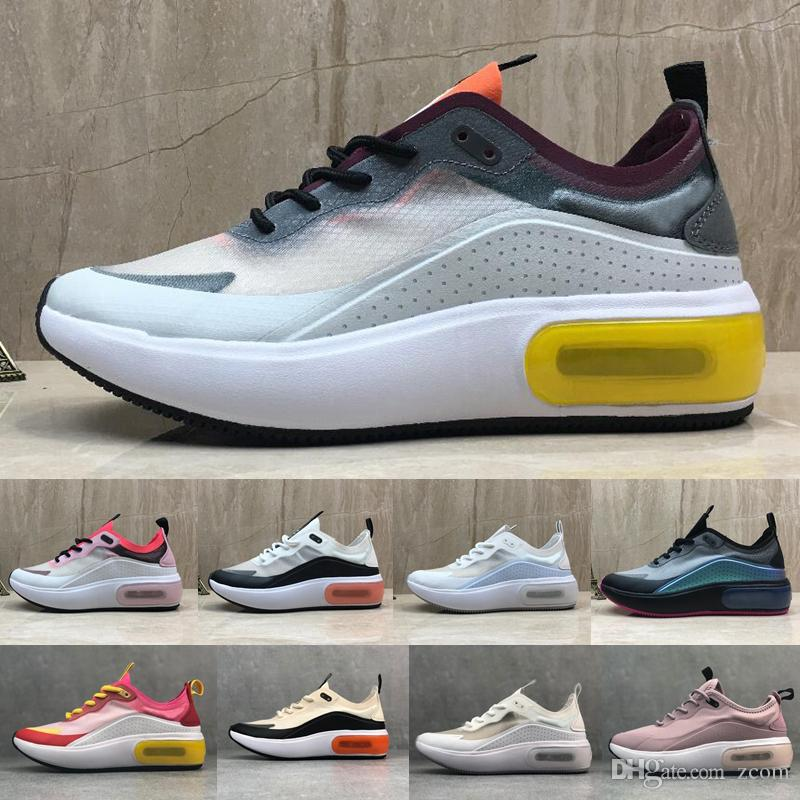 Compre 2019 Nike Air Max Dia Se QS Zapatillas Mujeres Para Hombres De Alta  Calidad De Gasa De Malla Transpirable De Moda De Marca Chaussures De ...