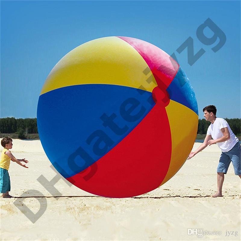 200 سنتيمتر / 80 بوصة نفخ شاطئ بركة لعب كرة الماء الصيف الرياضة تلعب لعبة بالون outdoors تلعب في المياه الشاطئ الكرة هدية المرح