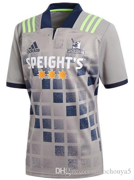 뉴저지 럭비 2020 뉴질랜드 슈퍼 럭비 유니폼 고지 홈 저지 리그 셔츠 고지