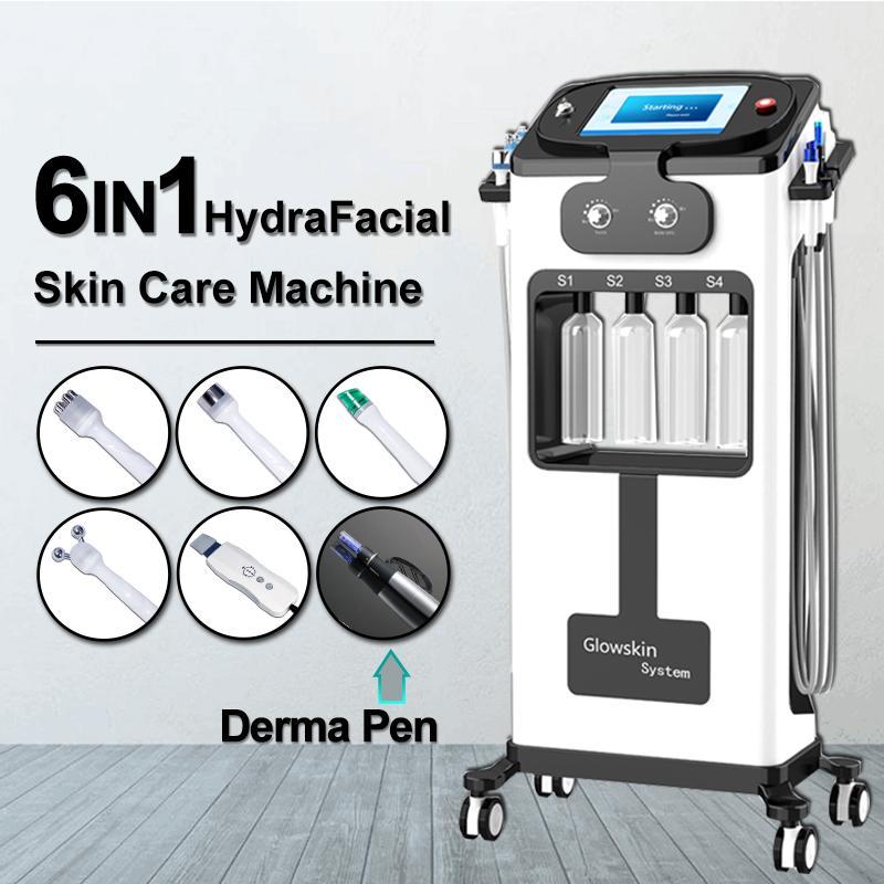 Most popular Hydrafacial Ultrasound RF Vacuum body shape Face deep Cleaner Skin Care water hydro Dermabrasion RF skin tightening machine