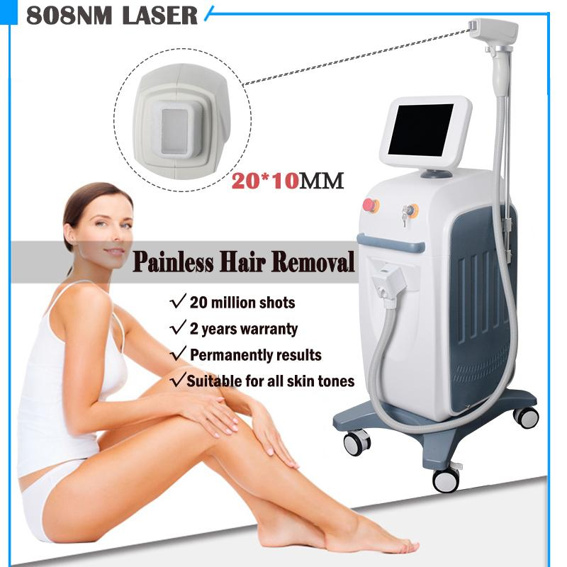 Pura luce laser a diodo sistema di depilazione 808nm diodo laser Soprano 808 diodo macchina di depilazione laser