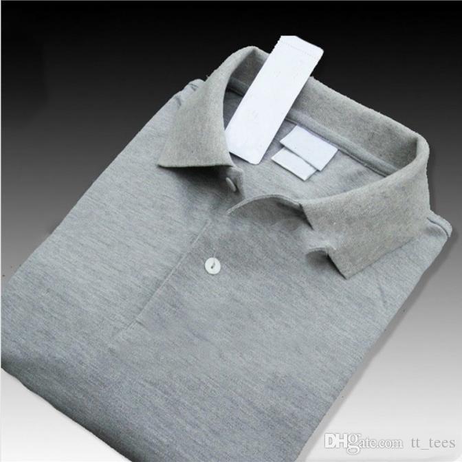 Mens Fashion Designer Polo Marca Verão Tops Bordados Mens Polo Camisas Moda shirt Homens Mulheres High Street Casual Top Tees Tamanho S-4XL encabeça