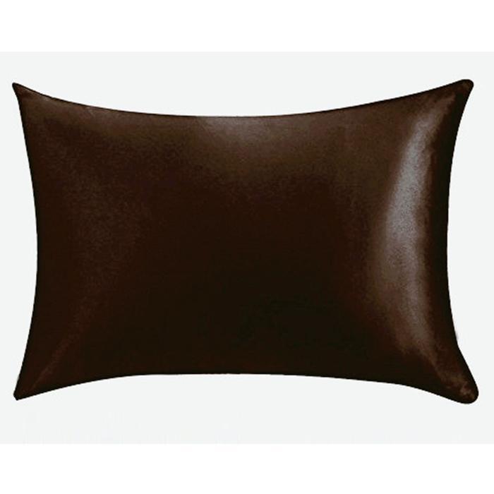 20 * 26inch Silk Satin Pillowcase Home Multicolor Ice Silk Pillowc Case Zipper Pillow Pillage Cover Double Face Envelope Bedding Pillage Cover VT0821