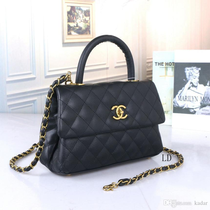 2020 Fashion Women Shoulder Bags High Quality handbags ladies Classic Pu Leather chain bags messenger shoulder tote bag V038