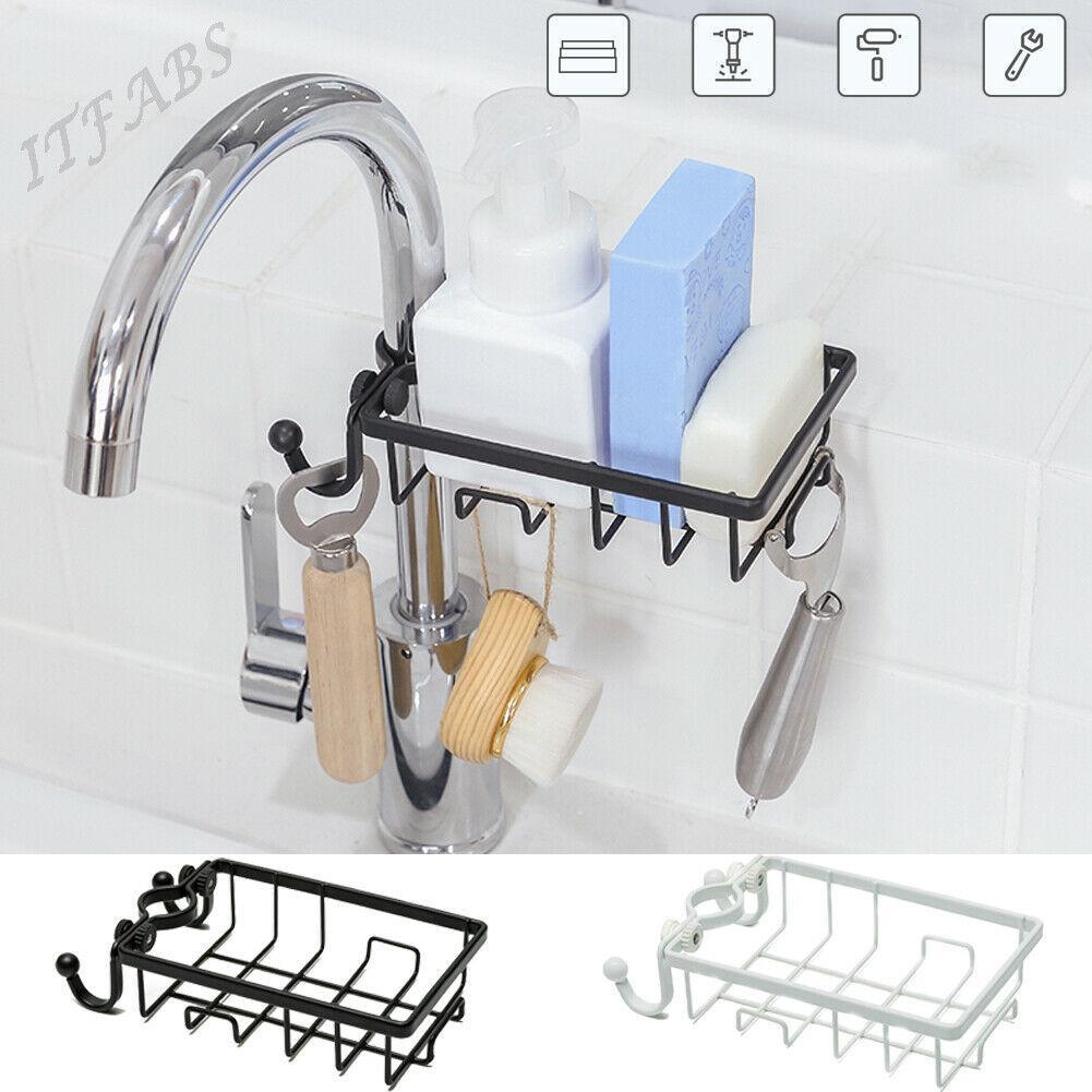 Vaisselle Cuisine Support Brosse éponge évier drain-Serviette Cuisine Tidy S