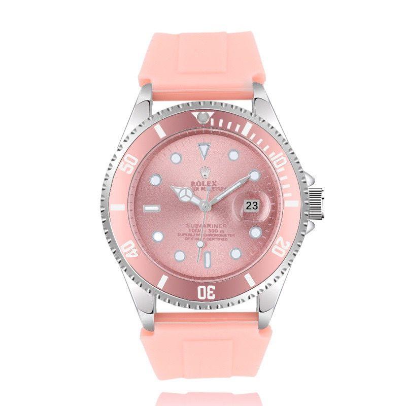 핫 판매 인기있는 시계 간단한 스타일의 스틸 케이스 남자 시계 고무 여성 패션 드레스 시계 명품 시계 높은 품질 애호가 손목 시계