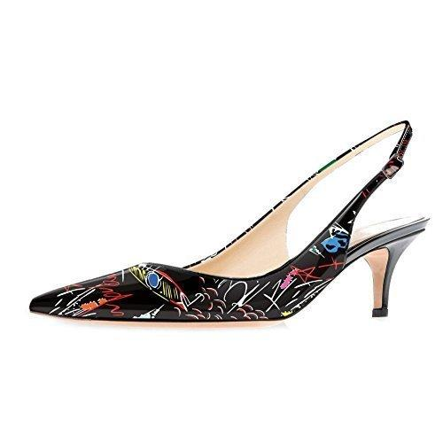 Fashion2019 Color Spelling Sharp With Back Air Women's Singles Asakuchi Shoes Latest Fashion Shoe Woman