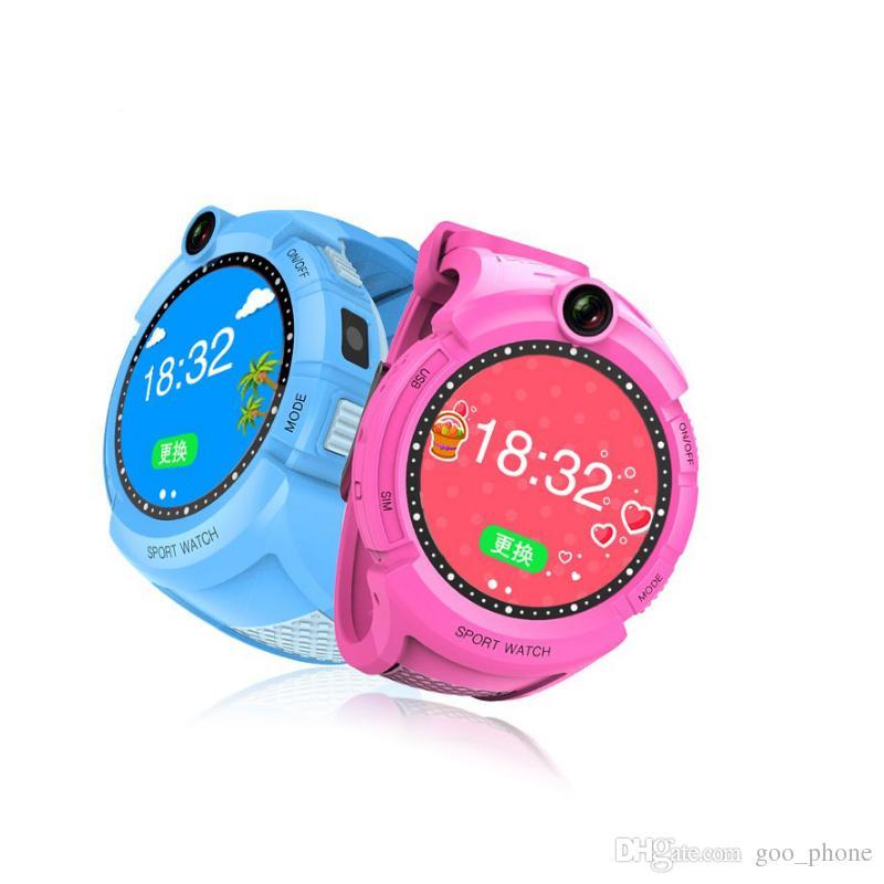 Q360 Avec GPS ou sans enfants Montre intelligente Résolution HD WIFI Localiser la montre-bracelet pour enfant SOS d'urgence multifonctions Bracelet une clé pour l'aide