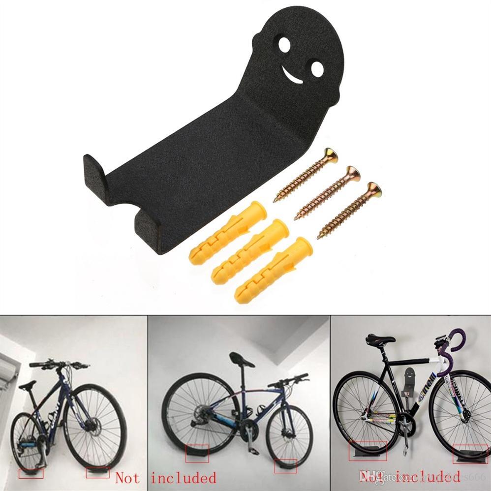 Pack de 2/voche/® Bicicleta Ciclo de montaje en pared ahorro de espacio de almacenamiento para colgar