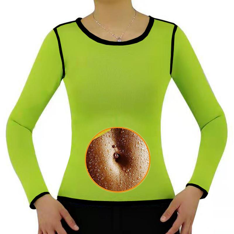 Blue Black Green Sports Tops Gym Women Sport Top Fitness T Shirt Woman Long Sleeve Yoga Top Sweat sauna Gym Tops Sport Wear 2020