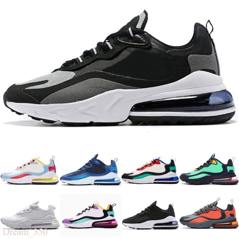 Nike Air Max 270 React 2020 Новый React Мужские Дизайнерские Кроссовки Chassures Homme React Man Спортивные Тренеры Мужская Баскетбольная Обувь Zapatos Размер Eur36-45