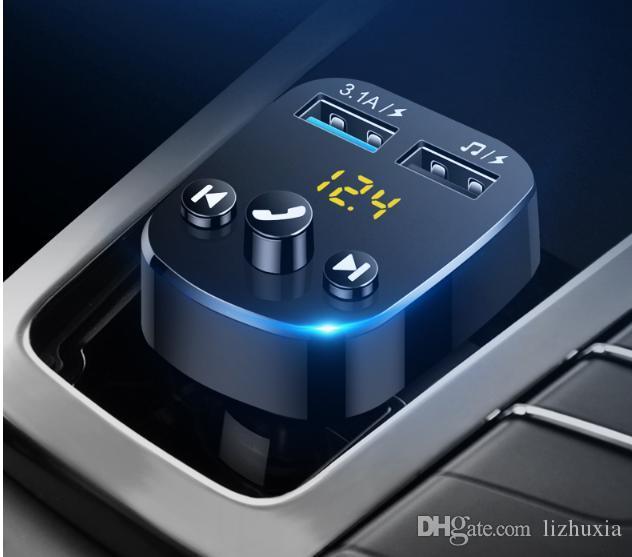لاعب MP3 سيارة متعددة الوظائف استقبال الموسيقى U سيارة قرص شاحن بلوتوث حر اليدين سيارة ولاعة السجائر
