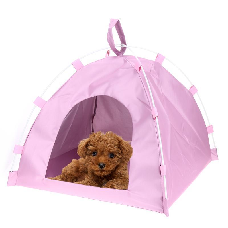 Waterproof Oxford Pets Houses Tent Dog Cat Playing Bed Portable Folding Mat Toy Dog House Puppy Kennel Tents Cats Nest