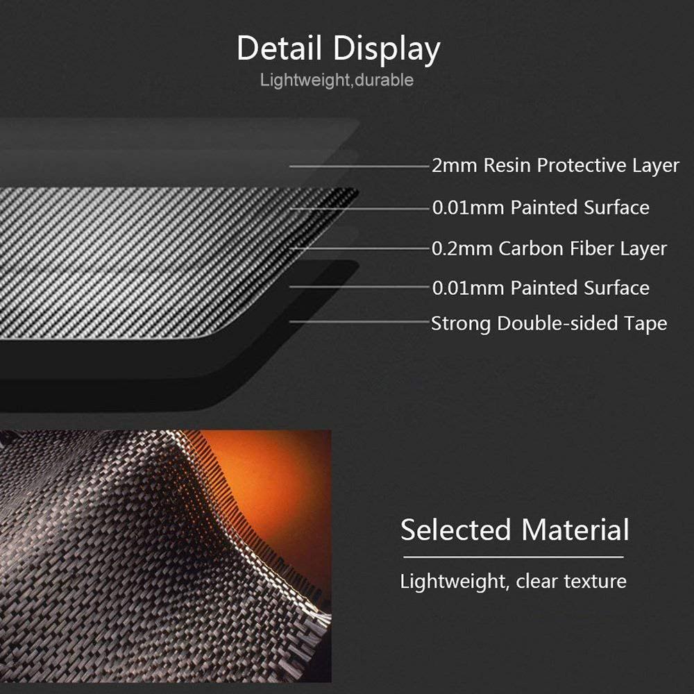Universal Carbon Fiber Handbrake Grip Cover For BMW X1 1 2 3 4 Series GT M4 G30 F30 F20 F10 E36 E39 E46 E60 E90 E50