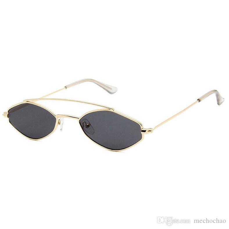 Marka Çerçeve Küçük Güneş Gözlüğü Moda kadın Poligon Tasarımcı Güneş Gözlüğü erkek Kadın Ürünleri Tasarımcı Güneşlik Polarize Bra Nufgc