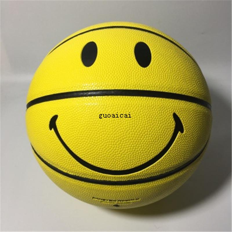 جديد حار نمط كلاسيكي فاخر كرة السلة ارتفاع جودة التدريب ابتسامة نمط الكرة الأزياء نمط كرة السلة شحن مجاني