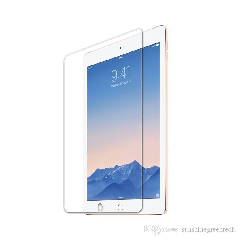 iPad 프로 iPad 2 3 4에 대한 9H 프리미엄 강화 유리 화면 보호기 공기 2017 MINI 9.7 10.5 소매 상자없이