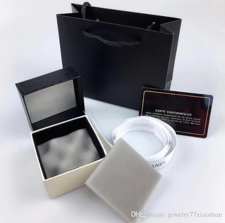 La joyería del diseño ordinario pequeña caja del paquete C Home Box Anillo Pendientes Collar universal regalo Box Set
