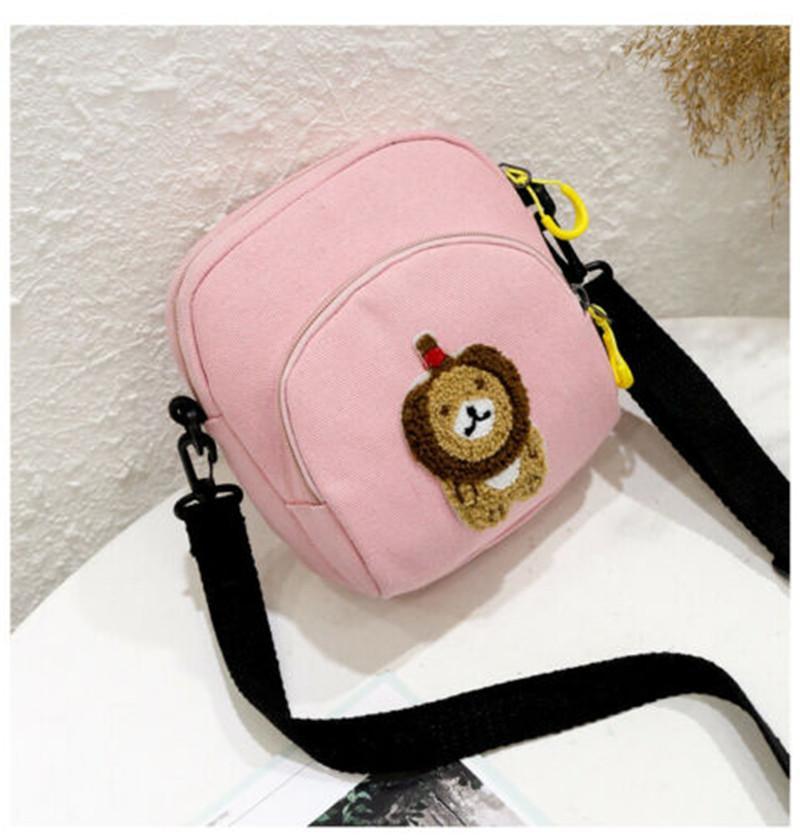 Las nuevas mujeres bolso precioso lienzo hombro del mensajero del bolso para la señora estampado de animales regalos de viaje Calle Crossbody bolso del monedero