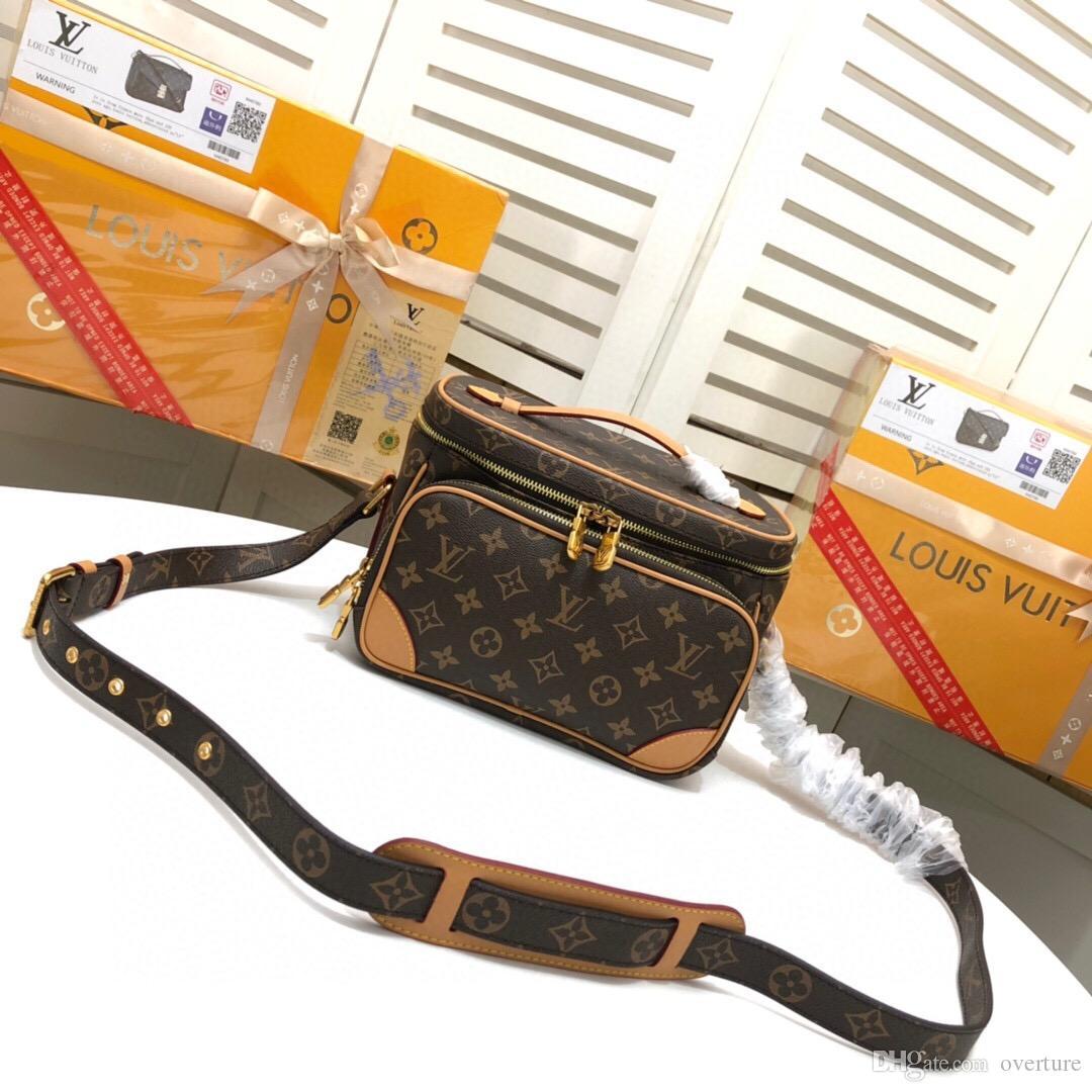 louis vuitton Lv Designer Luxus-Handtaschen Portemonnaie Marke Designer Crossbody Beutel 2019 Art und Weise Luxus Taschen Marke Frauen-Mappen-Taschen Umhängetasche BFD
