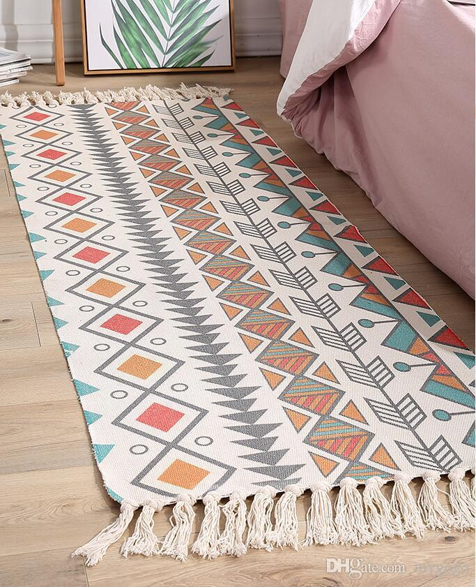 Acheter Nationalite Tapis Inde Couleur Vintage Style Ethnique