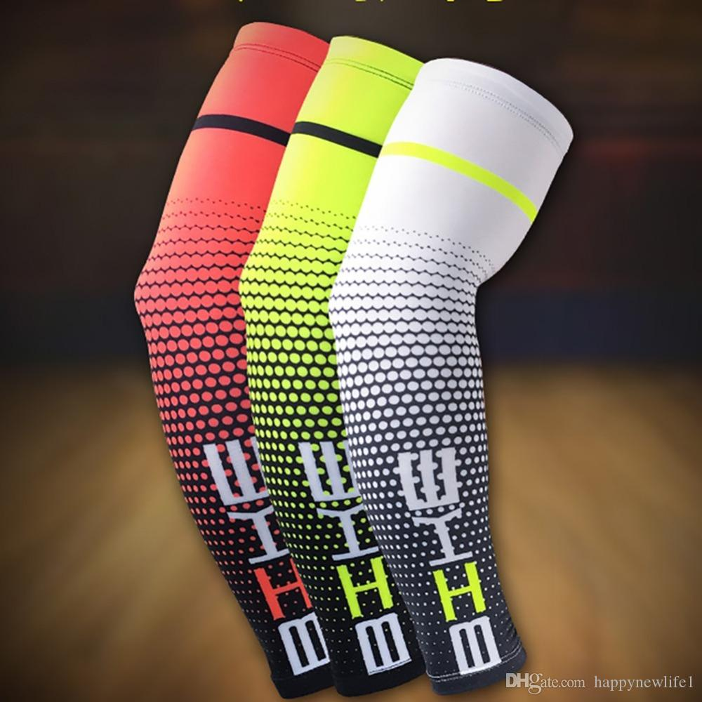 New 1 Pair Cycling Bike Bicycle Arm Warmers Cuff Sleeve Cover UV Sun Protection