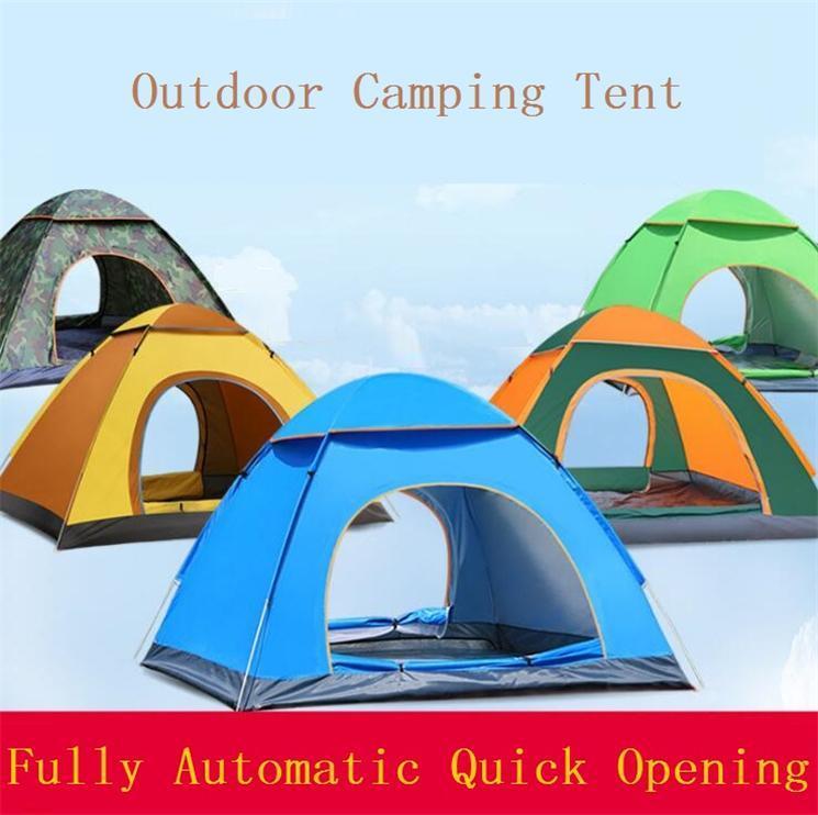 Tenda Verão rápida automática Abertura tenda ao ar livre Viagem Hilking Camping Proteção UV Tabernáculo fácil transportar Para Lawn Acessórios da praia