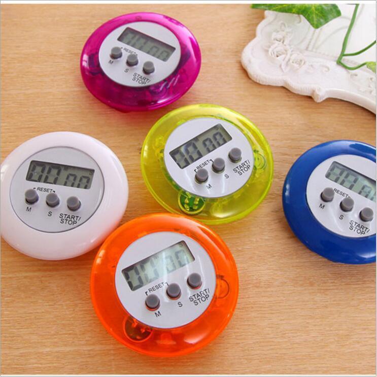 Kochen Timer Digital-Küche-Timer Kochen Zeit Alarm Magnetic Countdown Stoppuhr mit lautem Alarm A06