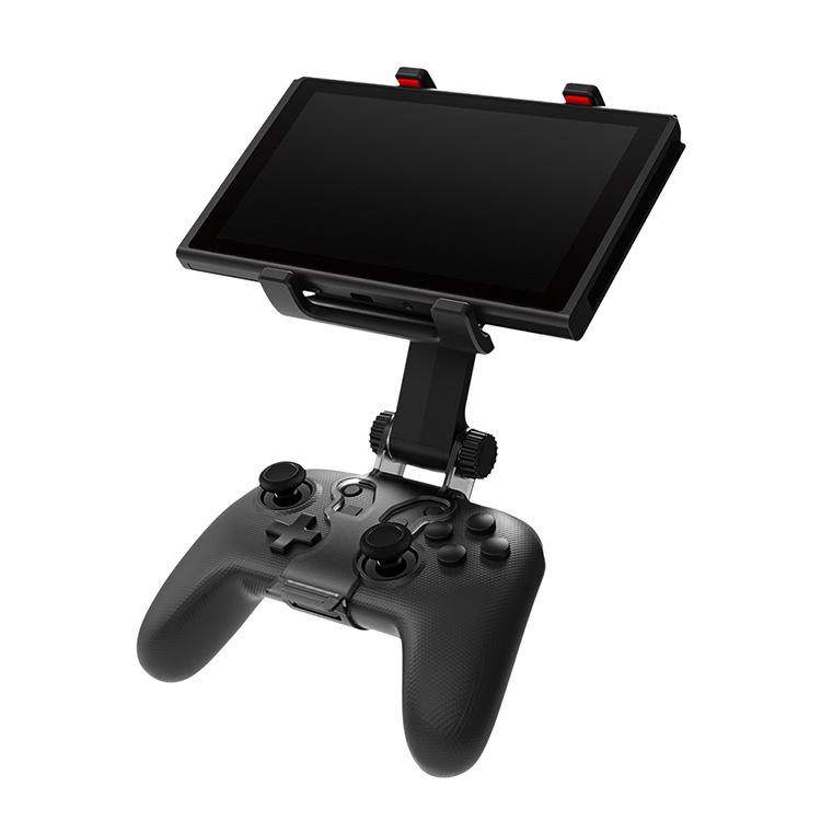 Para Nintend Mudar PRO Clipe Game Controller braçadeira montar titular Chave Pro controlador alça suporte para a chave do controlador Pro