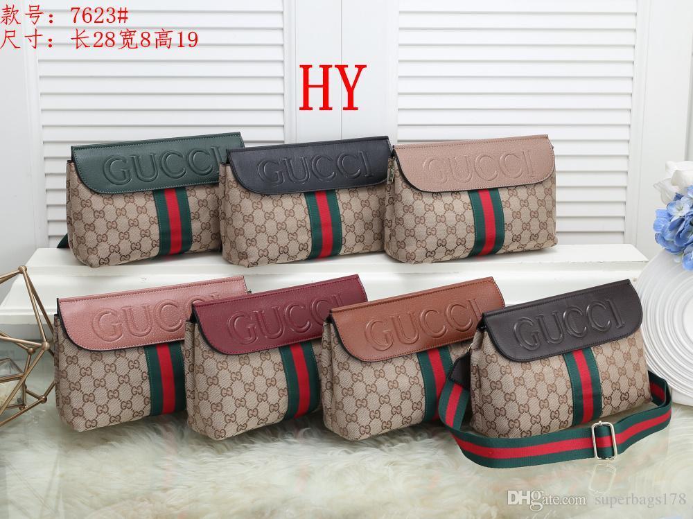 Acreditación HY 7623 Mejor alta calidad del precio de las mujeres solas señoras de totalizador del bolso del morral del hombro del bolso del monedero