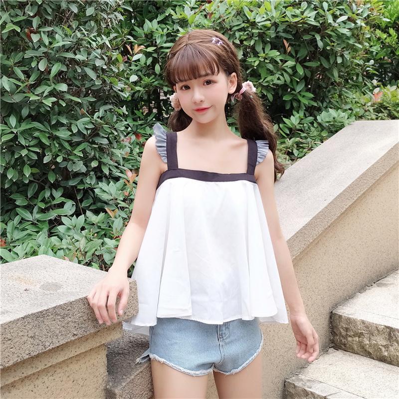 Le style de l'été fronce doux le style de l'été blanc sur l'épaule lâche haute qualité dames tops vêtements pour femmes le tempérament