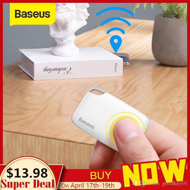 Baseus اللاسلكية الذكية المقتفي لمكافحة خسر إنذار المقتفي مفتاح مكتشف حقيبة الطفل المحفظة مكتشف GPS محدد لمكافحة خسر إنذار بطاقة 2 أنواع