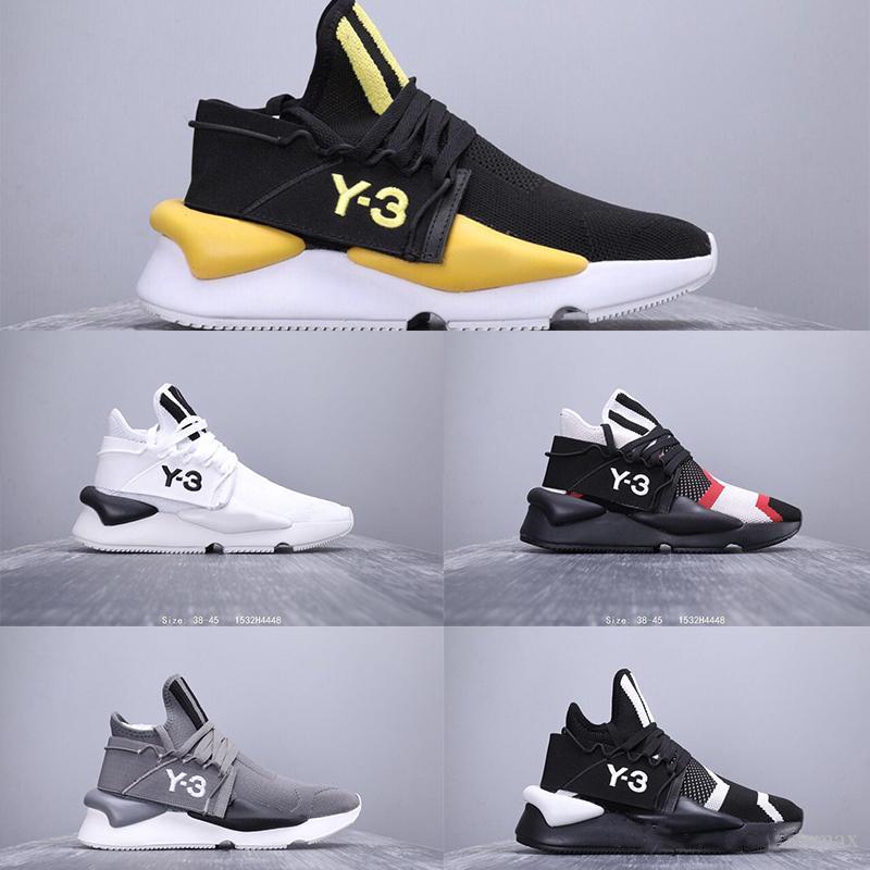 New Fashion Luxury Designer Y3 Kaiwa Chunky Hommes Chaussures de course de luxe Y3 Bottes sport marche jogging Chaussures de sport respirant Multicolor