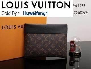 huweifeng1 opp Casual clutch m64035 LONG CHAIN WALLETS KEY CARD HOLDERS PURSE CLUTCHES EVENING