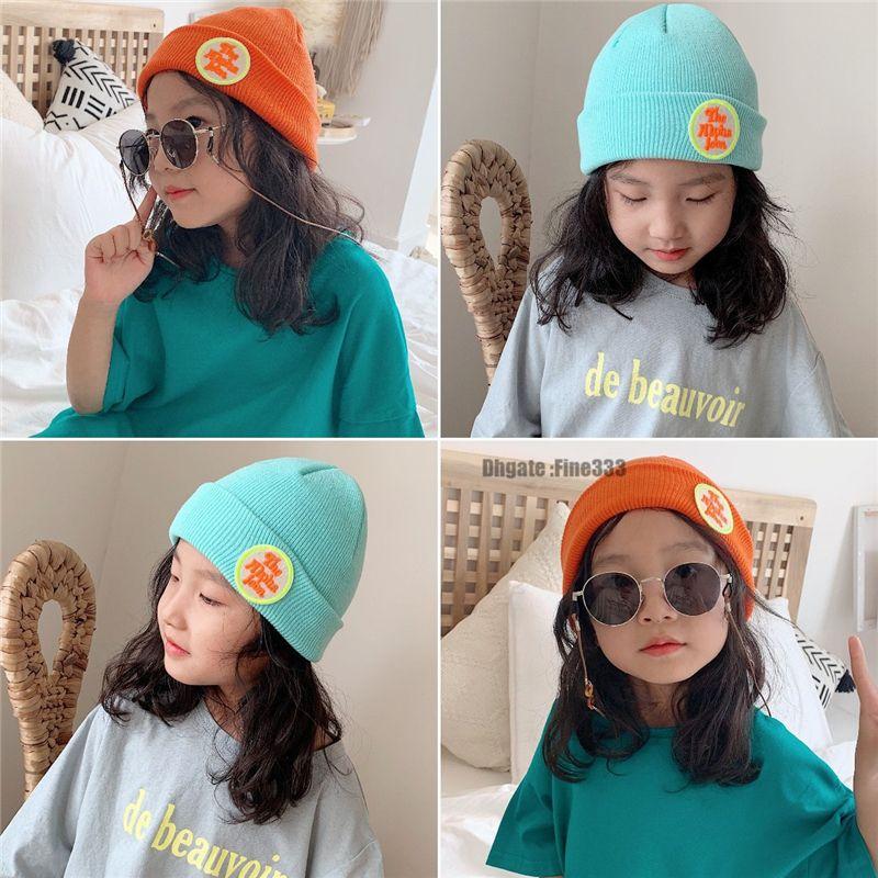 Kids Knitted Warm Cotton Beanie Hat For Toddler Baby Kids Girl Boy Knit Hats Children Casual Warm Cap