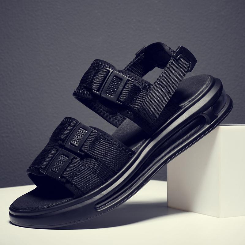 2020 fashion man shoes buckle strap sandals air cushion sandal summer travel sandals shock absorption shoes for beach z187