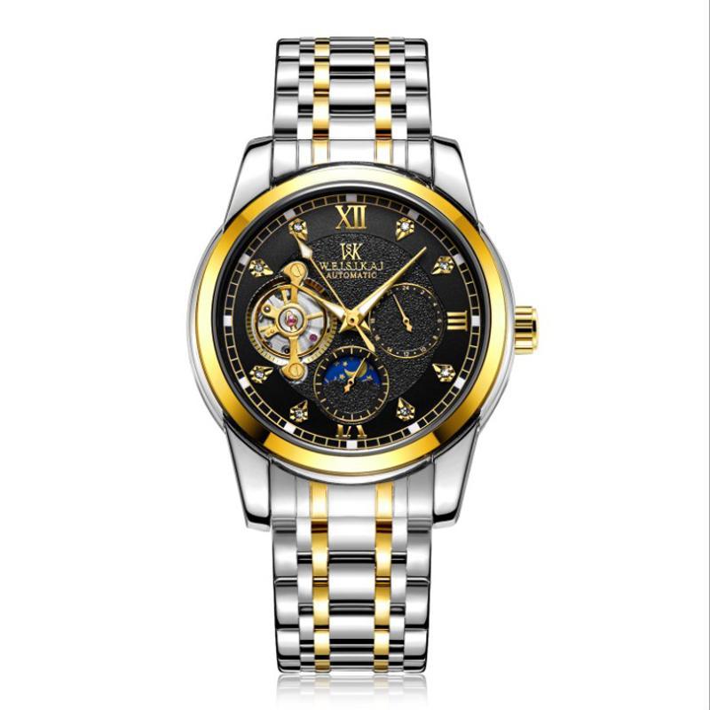 2020 Новые Спортивные Механические Часы Роскошные Часы Бизнес Мужские Часы Топ Бренд Montre Homme Часы Мужские Автоматические Часы