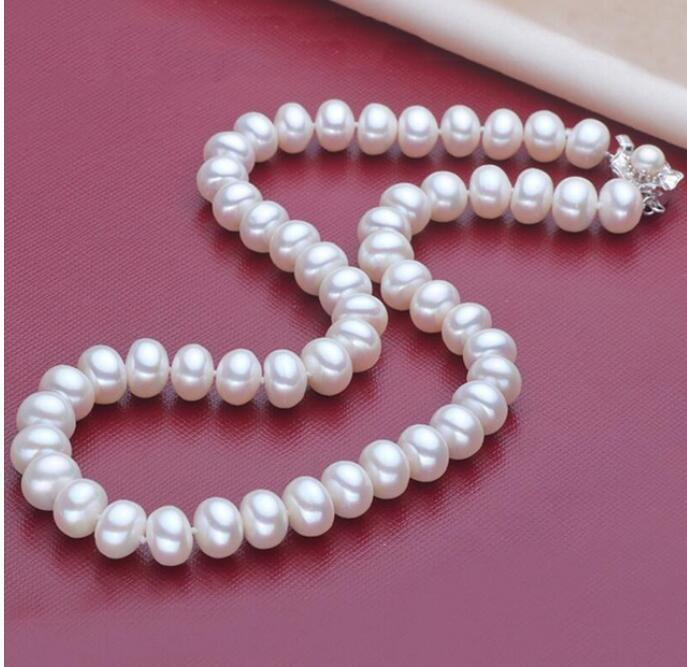 FREE SHIPPING Pearl necklace, natural star, the same jewelry, wholesale XL101-18