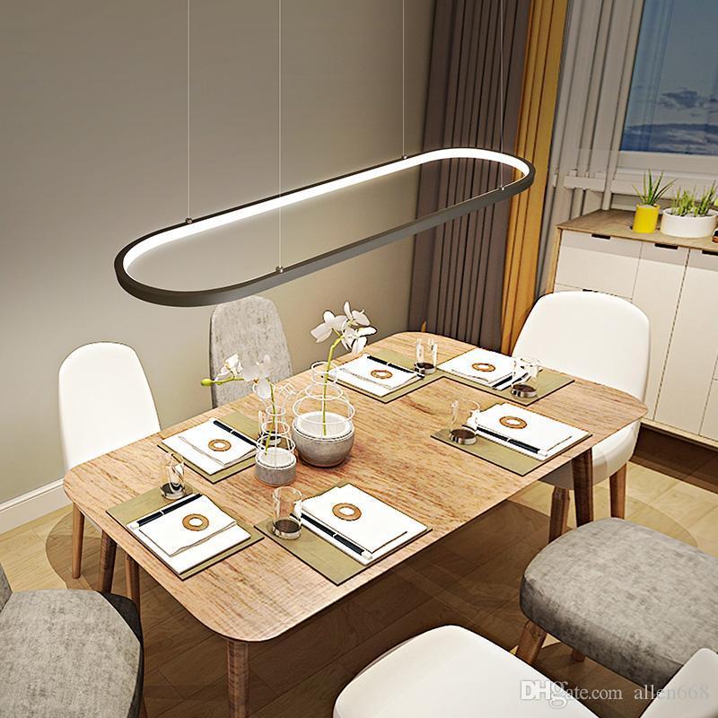 Modern Ring pendant lights LED pendant lamps Ceiling Hanglamps fixtures abajour for dining living room bedroom kitchen Lighting