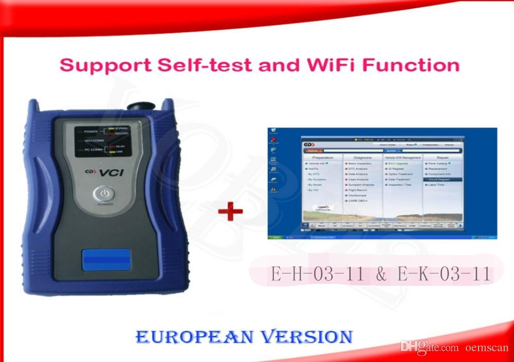 The Original Hyun-dai ki-a gds vci with wifi with version E-H-03-11 & E-K-03-11,European system for GDS VCI
