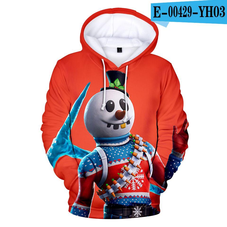 DLF 8-20Years 2019 Hot Moda 3D Hoodies alta qualidade velo camisola for Boys Streetwear Hip Hop Roupa menina cobre Jumpers LY191230