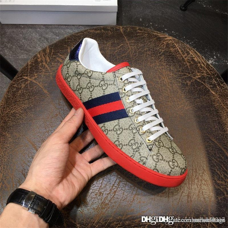 più recente ultimo stile vendita a buon mercato usa 2018 Pelle MADE IN ITALY Uomo Beige Scarpe Sneaker 429445K2LH0 9767 Shoes  With Box Walking Shoes Flat Shoes From Newxfstore, &Price;| DHgate.Com