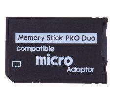 MS에 메모리 스틱 프로 듀오 어댑터가 지원 마이크로 TF 변환기 마이크로 SDHC 마이크로 SD 소니 PSP 1000 듀오 메모리 스틱 리더 PRO