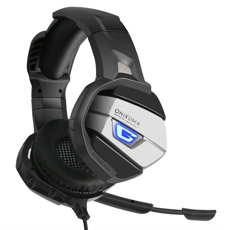 ONIKUMA Casque De Jeu Amélioré Super Bass Suppresseur De Bruit Stéréo LED Casque Avec Microphone pour PS4 Xbox PC Ordinateur Portable 1 PCS Haute Qualité