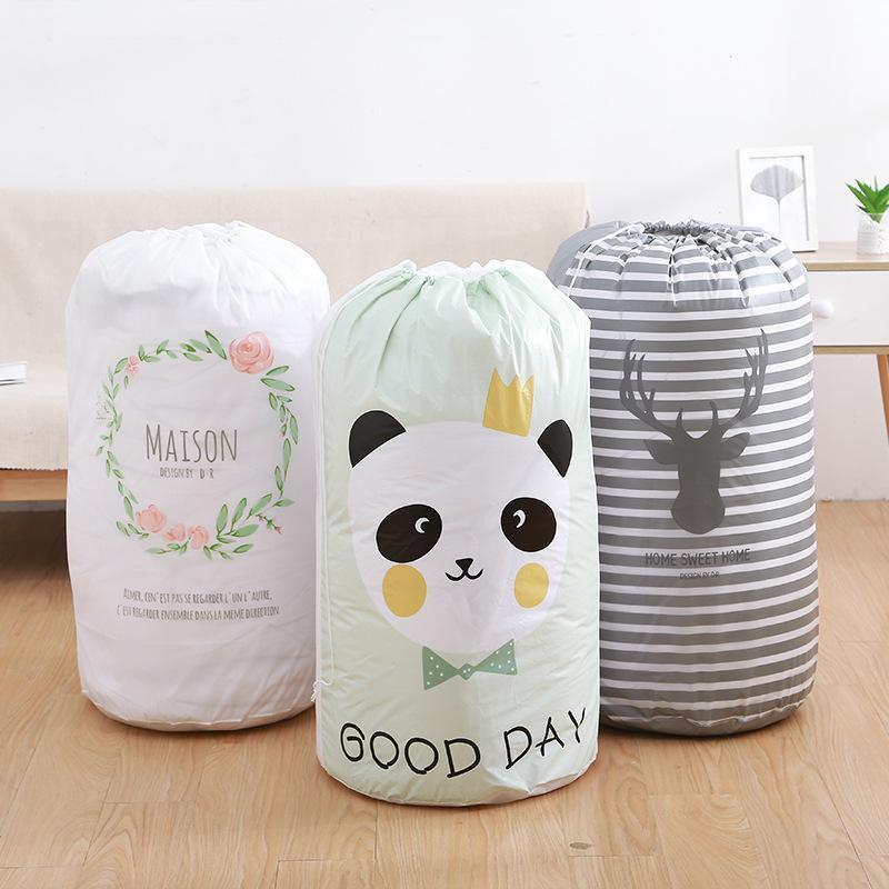 Accueil Grand Organisateur sac de rangement vêtements d'emballage Sac d'emballage Jouet Couettes Penderie Vêtements Bagages pour Literie Couverture Oreiller