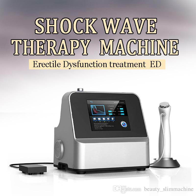 7 transmissores Electro magneticamente Terapia por Ondas de Choque Equipamento similar com Gainswave para terapia ED ou Reduzir a dor em relevo para o corpo Vendido por