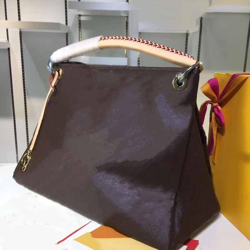 bolso de la manera bolso de cuero bolso de calidad medio artístico M40249 del bolso del diseñador de la marca bolsa de compras a la moda de la venta caliente portátil