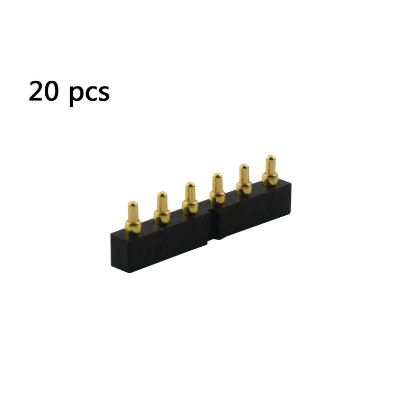 20pcs 6pin Connecteur de batterie pour Symbol MC55 MC55A MC65 MC67 Scanner