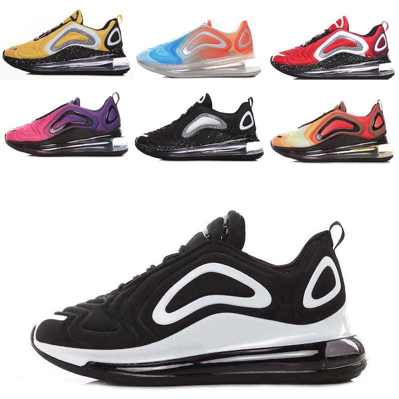 Nike Air Max 720 2019 좋은 품질 고전적인 유행 안락한 운동화 72 강사 미래 시리즈 Venus Panda casual outdoor shoes